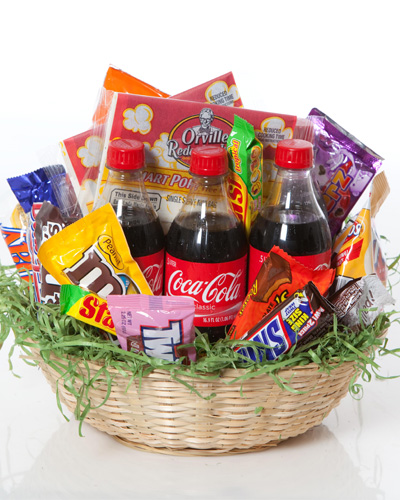 Wildcat Snack Basket Home Birthday For Him